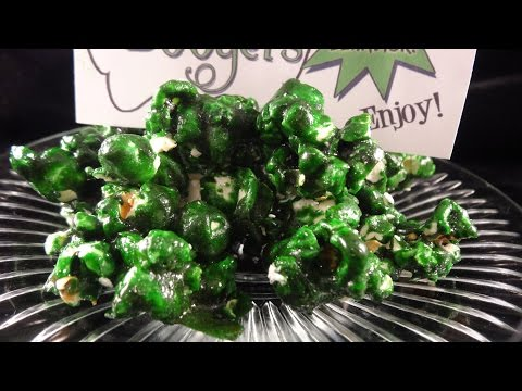 Zombie Boogers (Candied Popcorn)- with yoyomax12