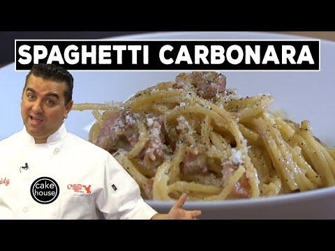 The Cake Boss Makes THE BEST Spaghetti Carbonara! | BVK EP02