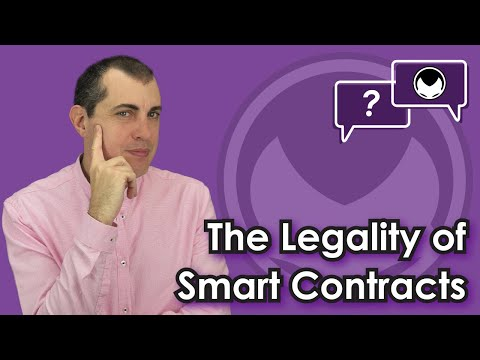 Ethereum Q&A: The Legality of Smart Contracts