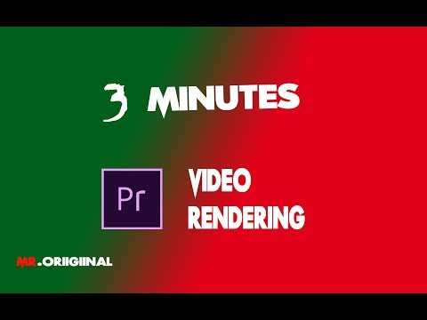 How to Render video in Adobe premiere Pro | Fast Tutorial | thumbnail