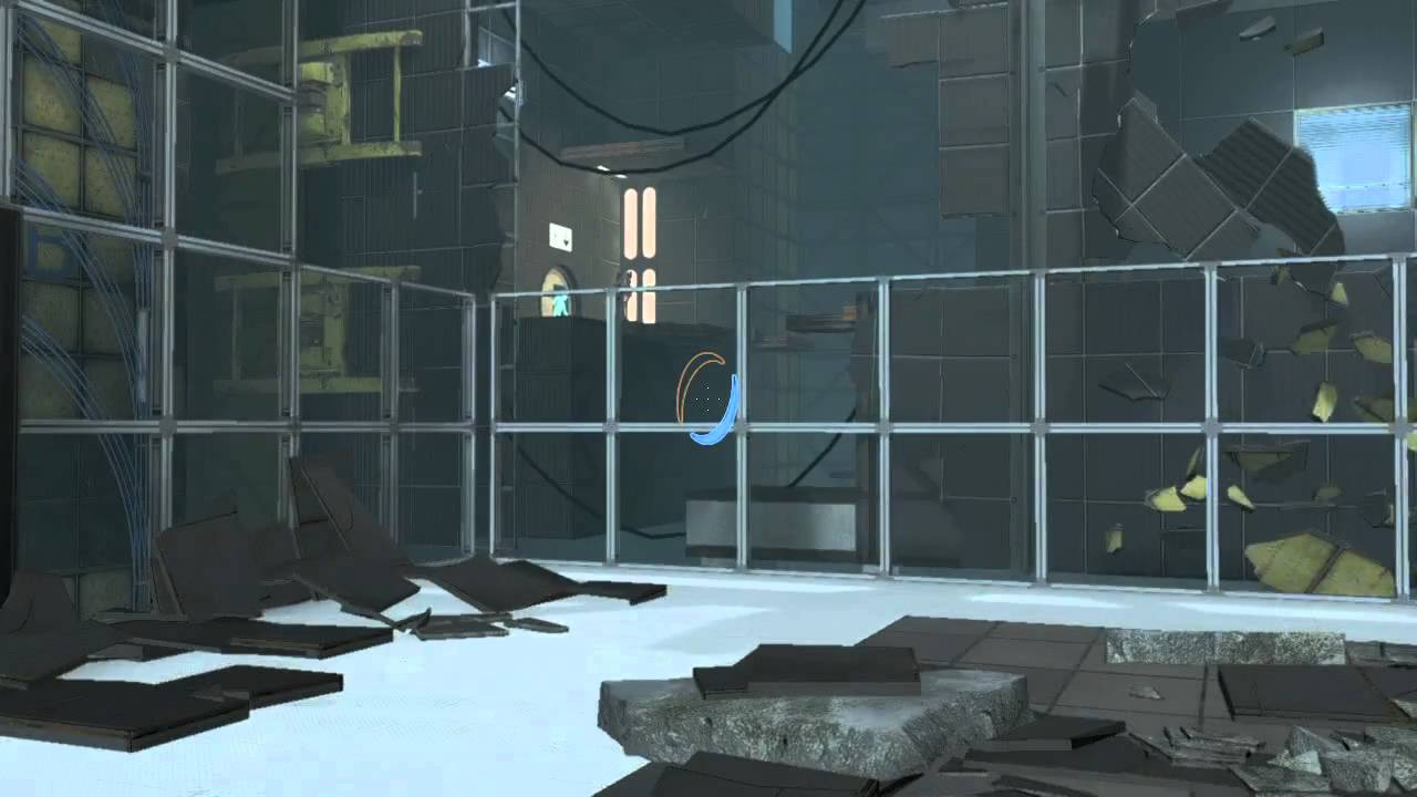 portal 2 p body easter egg rooster teeth youtube - Images Of Easter Eggs 2