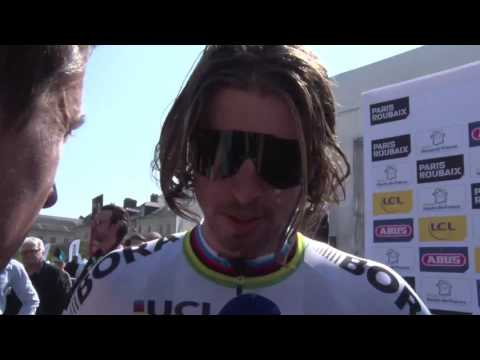 Peter Sagan - interview before the race - Paris-Roubaix 2017