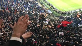 Schalke 04 - Ajax 20-04-2017, Voor Ajax Amsterdam!