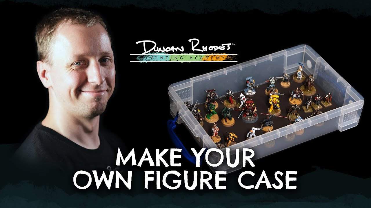Make your own Figure Case.