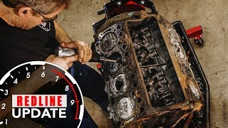 Smashing the pistons out of our crusty Buick Nailhead V-8 | Redline Update #3