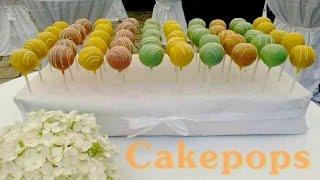 Cakepops - Wie die Kuchenfee Cakepops herstellt - Methode/Technik für Cakepops - Kuchenfee