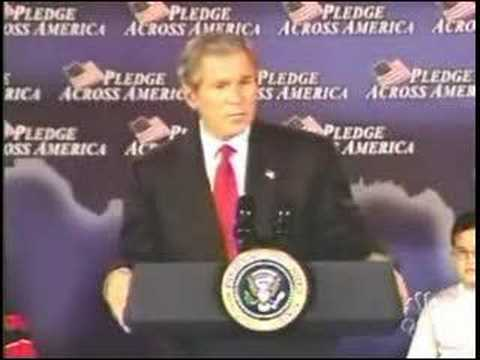 "Bush ""Fool Me Once..."""