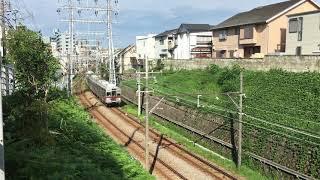さよなら東急7700系 7908F 石川台~洗足池 走行シーン