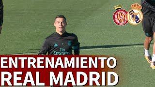 Girona - Real Madrid | Entrenamiento previo en Valdebebas |Diario AS