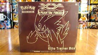 Mega Gengar Phantom Forces Elite Trainer Box Opening