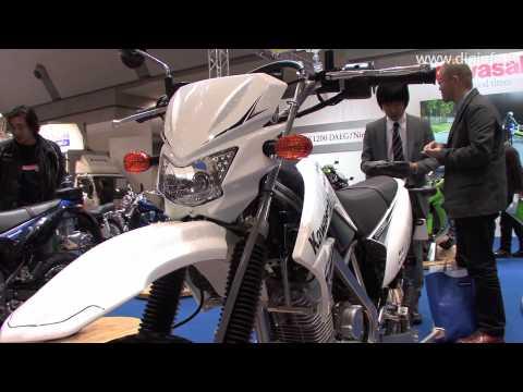 Kawasaki KLX125 - Tokyo Motorcycle Show 2010 : DigInfo