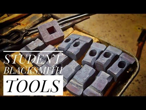Forging Tools For Blacksmith Students!