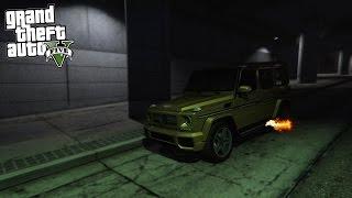 ГЕЛИК, КОТОРЫЙ СТРЕЛЯЕТ ОГНЕМ! - Mercedes-Benz G65 AMG // GTA 5: Mods
