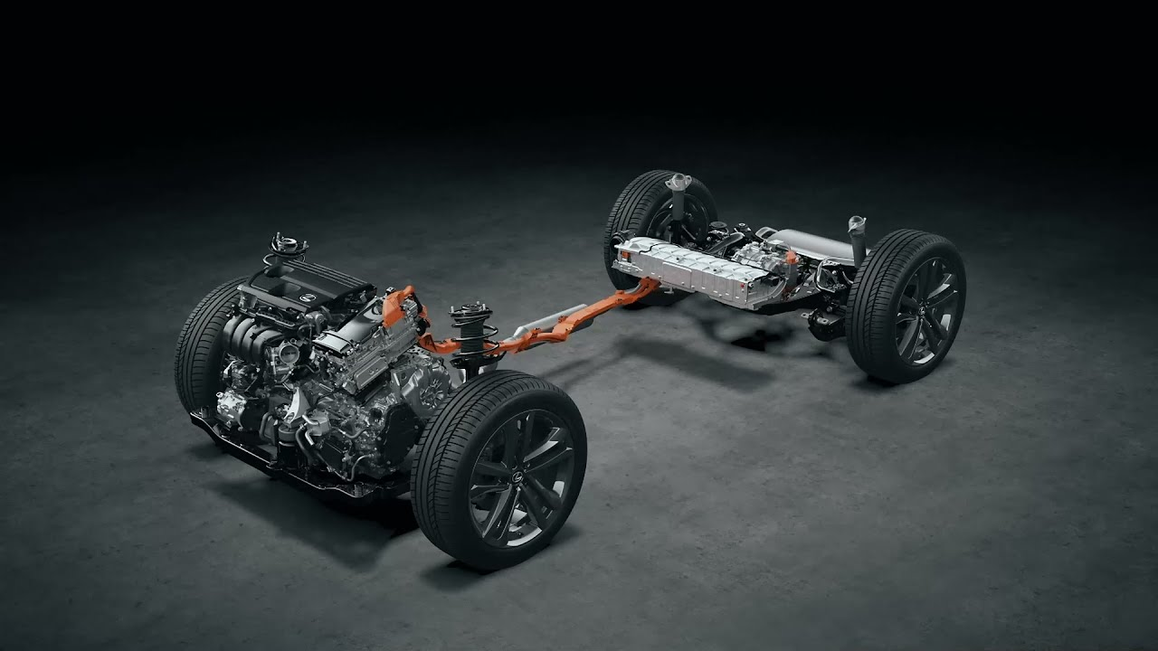 Under the skin of the all-new Lexus NX 350h Hybrid