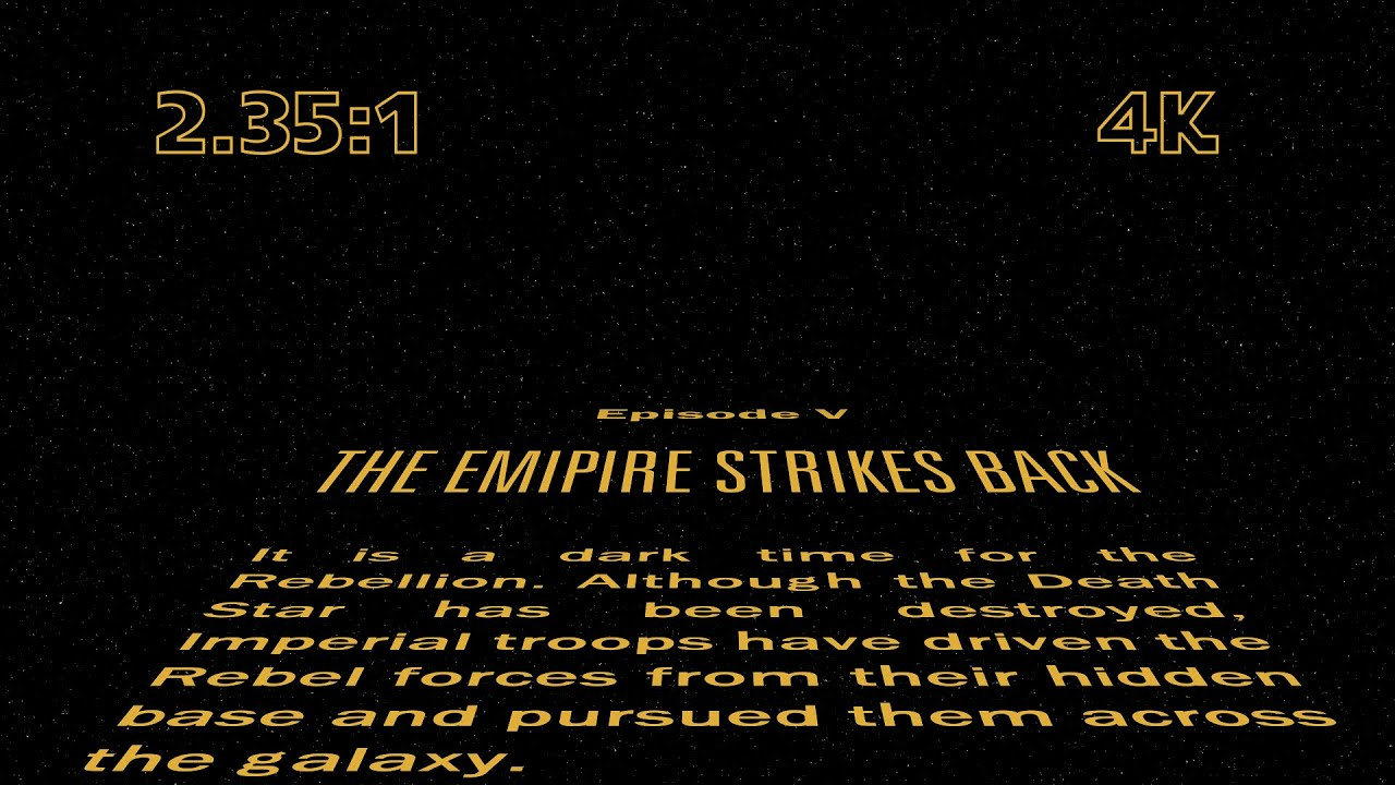 star wars opening crawl - photo #18
