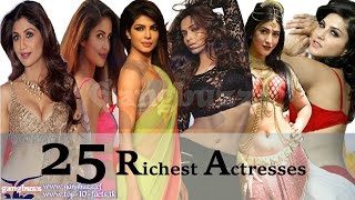 Richest actress in bollywood - 25 most richest actress in bollywood of all time | net worth |