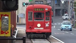 長崎電気軌道(路面電車)発着風景