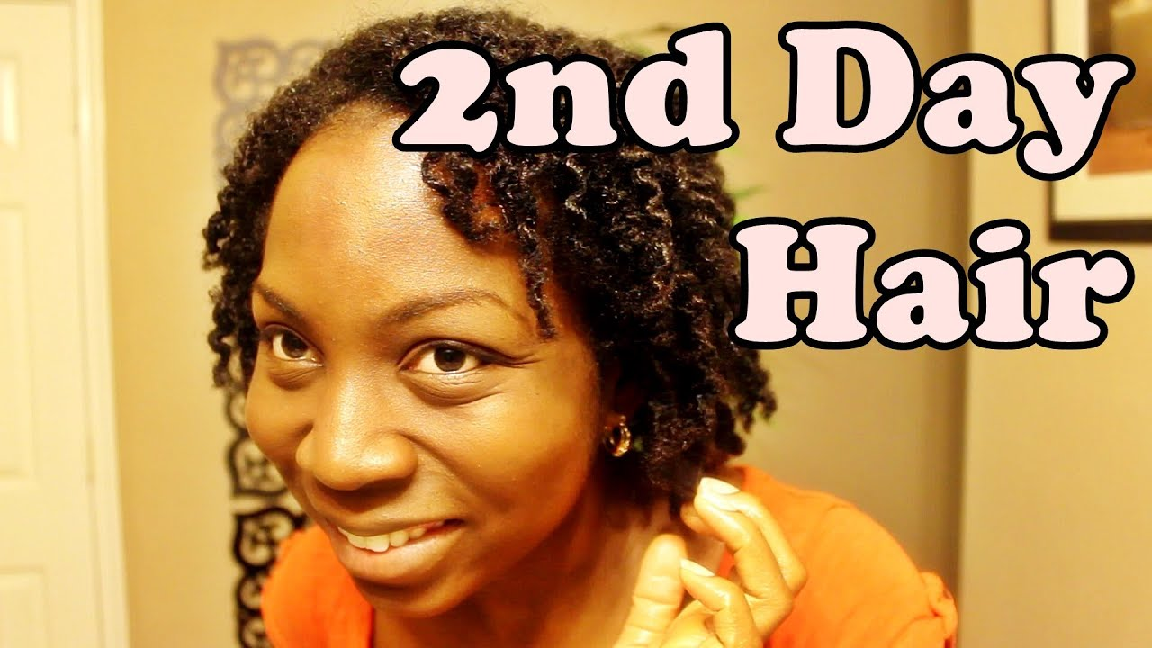 second day hair styles 254 hair refreshing 2nd day twistout w 3926