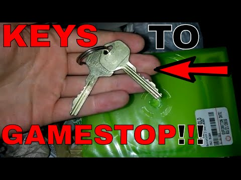 Thumbnail: THE KEYS TO GAMESTOP!!! Dumpster Dive Night #263