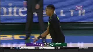 TCU vs Baylor Men's Basketball Highlights