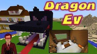 Örümcek Çocuk Minecraftta Ender Dragon Evi Yapımını Gösteriyor Örümcek Adam Çizgi Film İzle