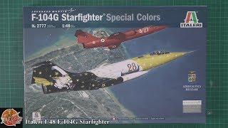 Italeri 1/48 F-104G Starfighter review