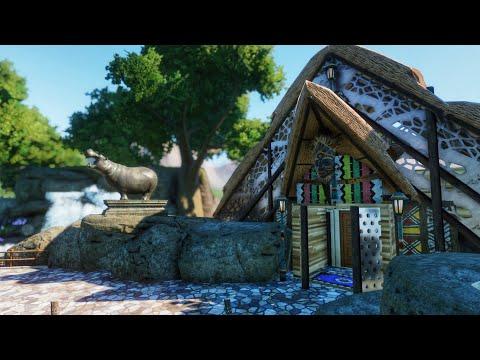 Hippo Enclosure Entrance! | Planet Zoo
