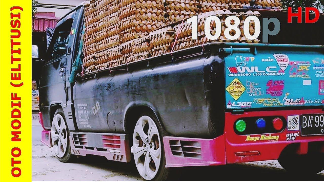 Kumpulan Koleksi Modifikasi Mobil Pick Up Mitsubishi L300 Gratis Terbaik