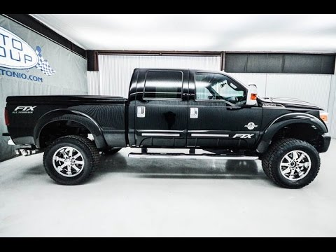 2012 Ford F250 Lariat Diesel Tuscany FTX Lifted Truck ...