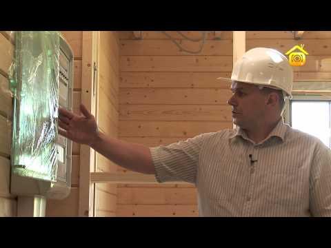 Электрика в деревянном доме // FORUMHOUSE