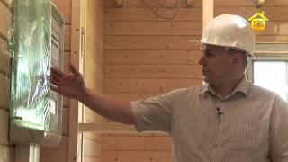 видео Электрика деревянного дома. Правильный подход