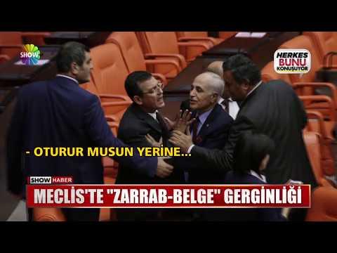 "Meclis'te ""Zarrab-Belge"" gerginliği"