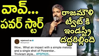 Rajamouli TWEETS on Pawan Kalyan