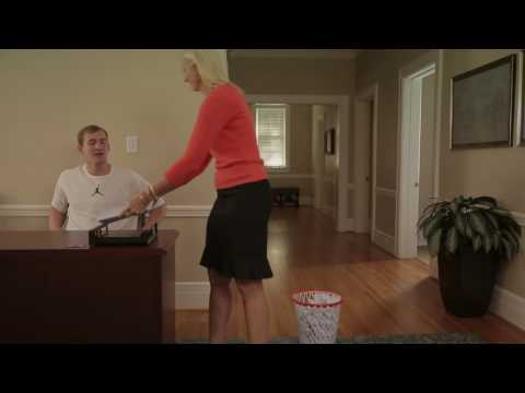 Cody Zeller Working At Campbell & Associates Office