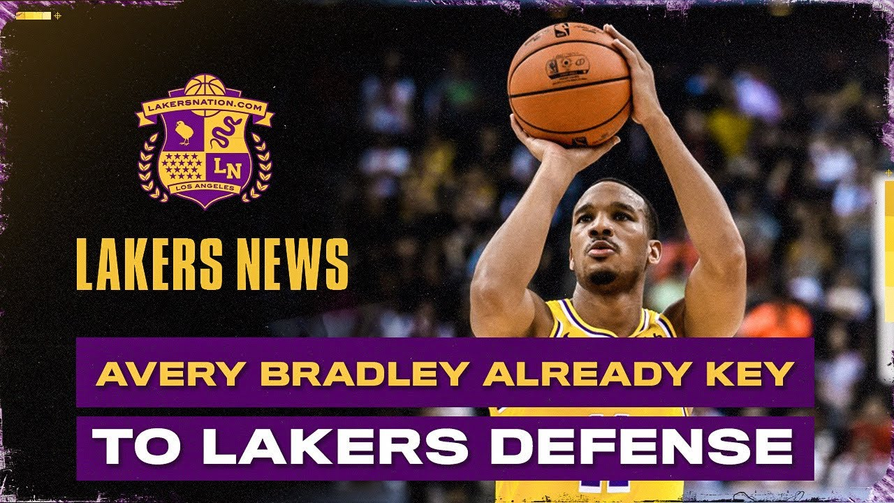 Avery Bradley Is Already Key To The Lakers' Defense - Lakers Nation