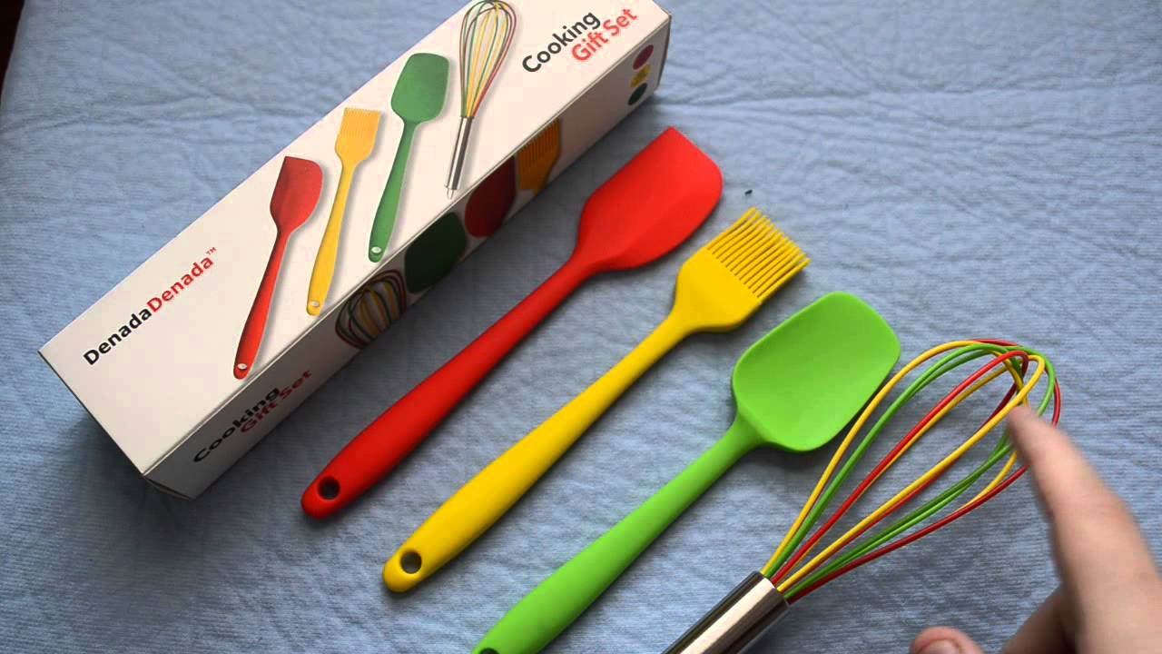 Denadadenada Cooking Utensils Silicone Kitchen Gadgets