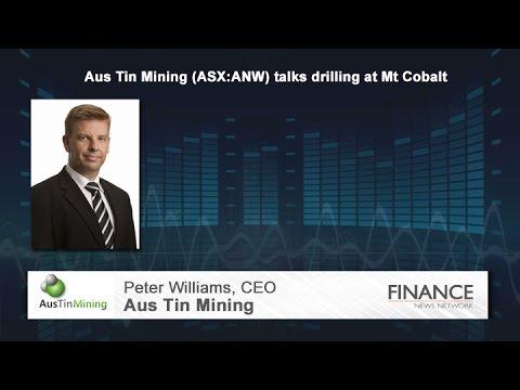 Aus Tin Mining (ASX:ANW) Talks Drilling At Mount Cobalt