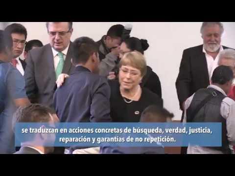 """Caso Ayotzinapa: ONU y Gobierno de México firman acuerdo """"para alcanzar la verdad y la justicia"""""""