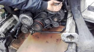 Traduire Changer une courroie d'alternateur BMW E46 330D