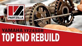 Yamaha YFZ450R Top End Rebuild | Partzilla.com