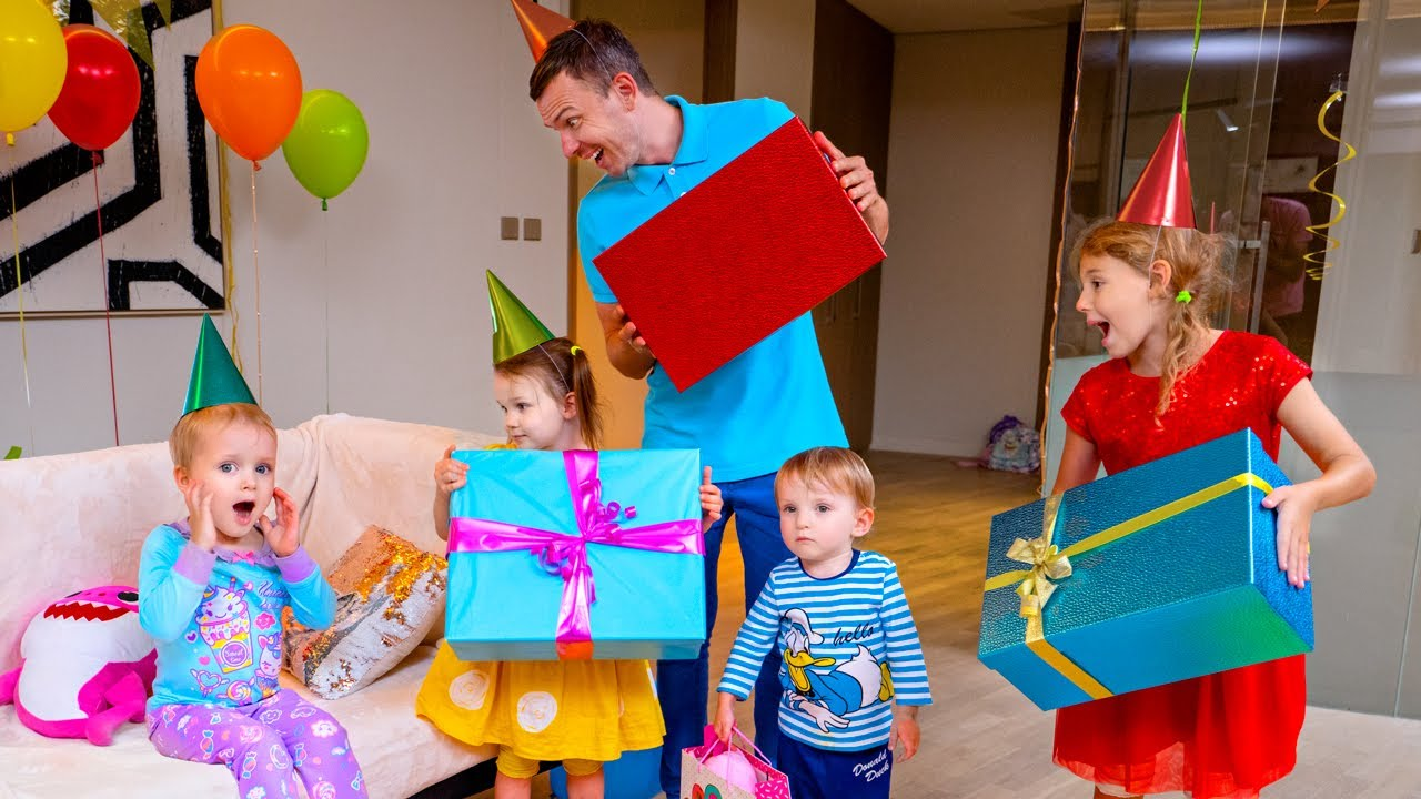Five Kids The Day before Birthday + more Children's Songs and Videos