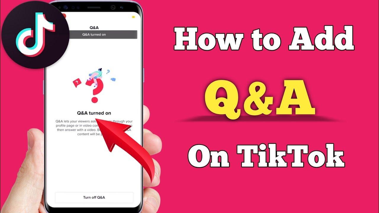 How To Add Q A Into Your Tiktok Bio Tiktok New Feature 2021 Youtube