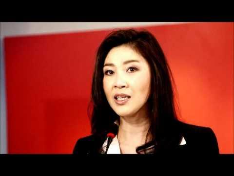 Yingluck Shinawatra Press Conference
