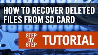 How To Recover Deleted Files From SD Card