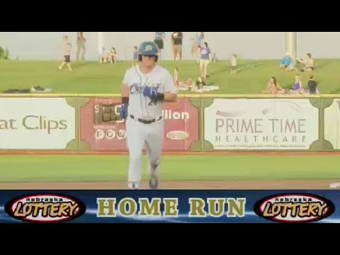 Omaha's O'Hearn revs up the offense with a homer