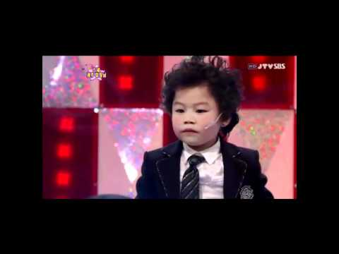 Kid Dancing to 2PM's Heartbeat