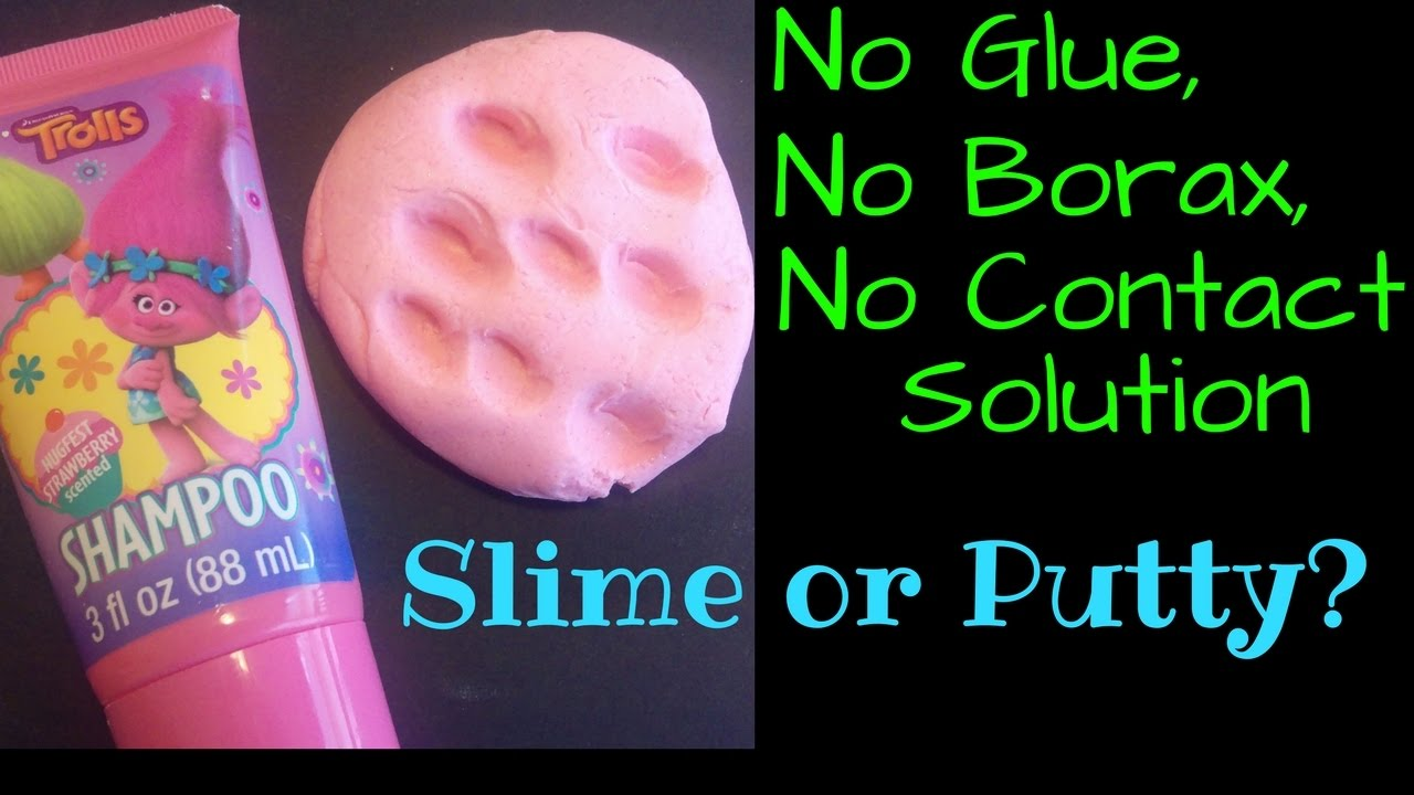Can i make slime without glue no borax no contact solution can i make slime without glue no borax no contact solution no glue shampoo slime or putty ccuart Gallery