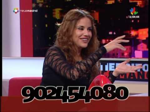 monica hoyos habla de javier carmona en telemadrid