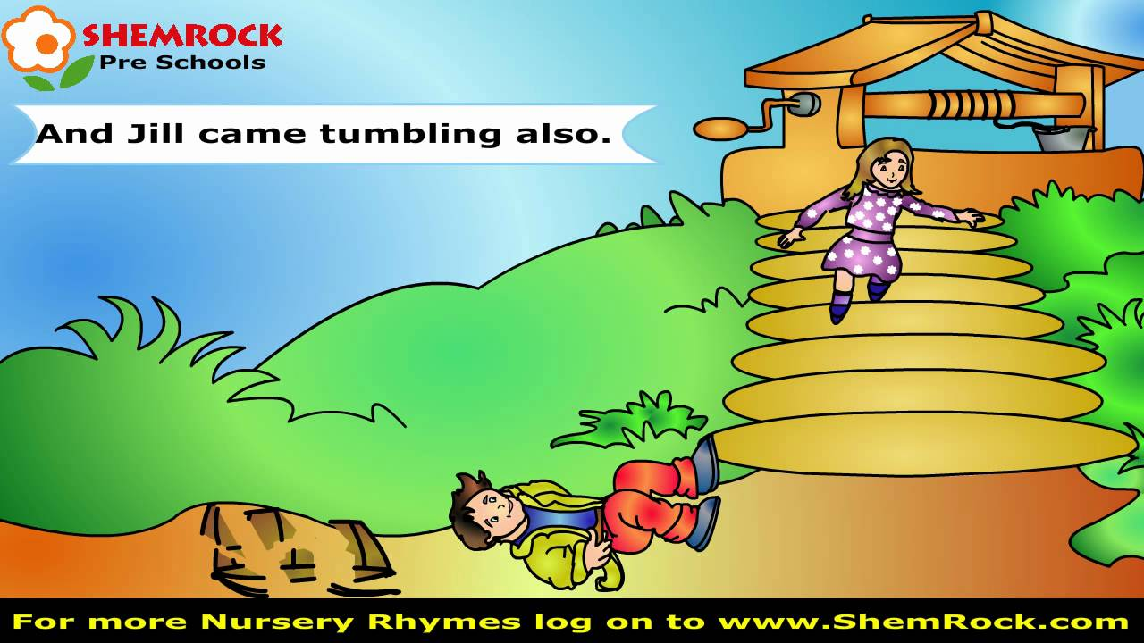 Nursery Rhymes Jack And Jill Songs With