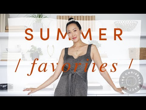 Summer Favorites 2018 | Chriselle Lim thumbnail